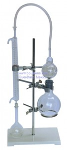 Destilador de laboratorio