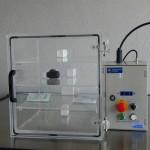 Caja de vacio y presion - control de hermeticidad