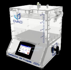 Detector de fugas para empaques CDV2
