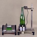 Control perpendicularidad para botellas de vidrio