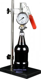 PVT medir presión interna envase
