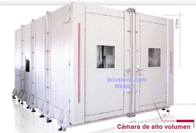camaras de pruebas climaticas de alto volumen