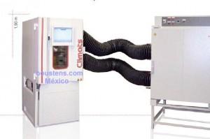sistema de regulacion de aire camara climatica
