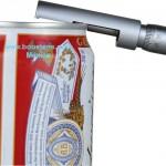 micrometro para engargolado latas