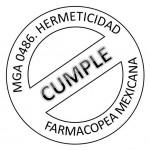 cumple con MGA 0486 control hermeticidad