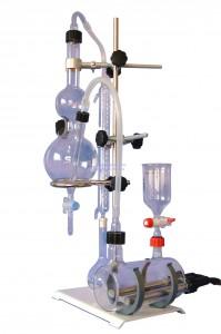 Destilador para extraer alcohol y Acidez Volátil