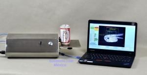 control dimensional engargolado latas y aersoles con camara y software