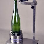 medicion perpenticularidad sistema de control de botellas de vidrio