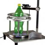 Medidor de perpendicularidad de botella de plastico