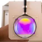 polariscopio botella de vidrio color