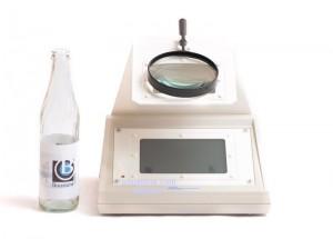 polariscopio botella de vidrio boustens