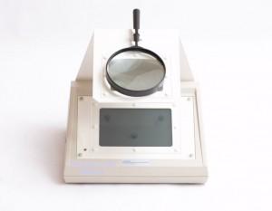 polariscopio botella de vidrio equipo